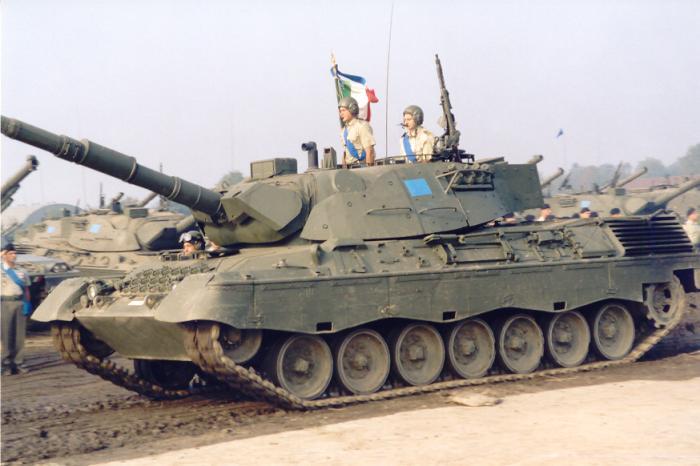 Foto carro armato leopard 15