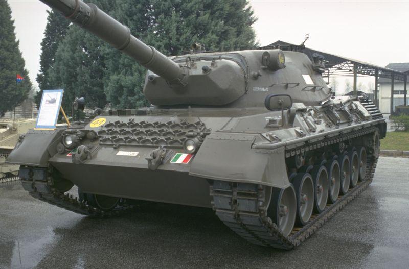 Foto carro armato leopard 43
